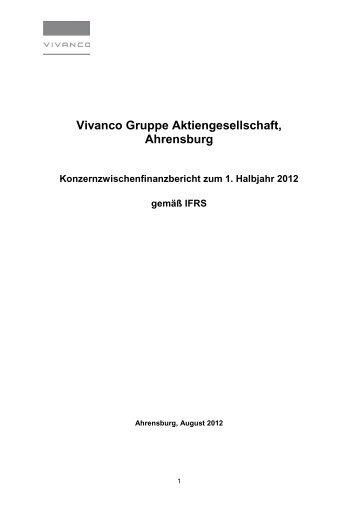 Vivanco Gruppe Aktiengesellschaft, Ahrensburg - Vivanco GmbH