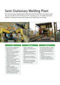 Semi-Stationary Welding Plant - Page 2