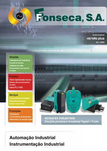Automação Industrial Instrumentação Industrial - FFonseca