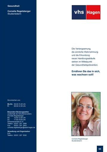 Gesundheit und Prävention - VHS-Studienreise.de