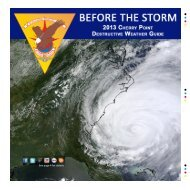 Destructive weather guide - MCAS Cherry Point - Marine Corps
