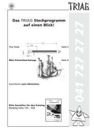 Stechen - TRIAG AG