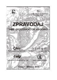 Pozvánky na konference a semináře v roce 2009 - Česká ...