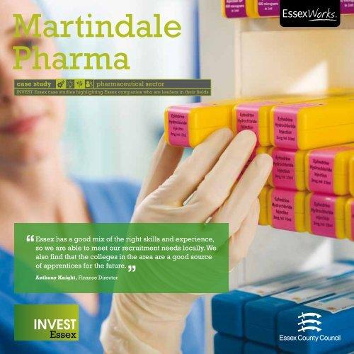 Martindale Pharma - Invest Essex