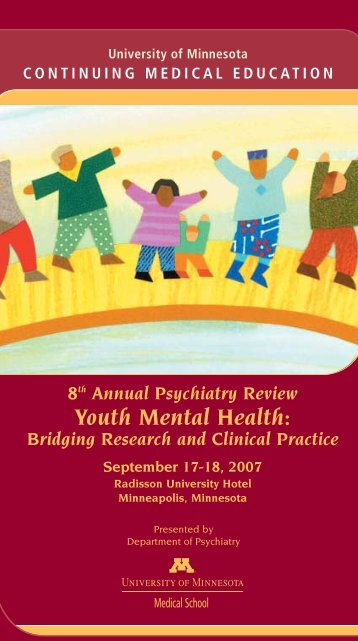 Youth Mental Health: Annual Psychiatry Review - Continuing ...