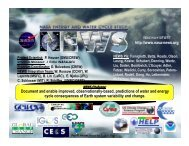 Water & Energy Cycle Prediction - NEWS (The NASA Energy and ...