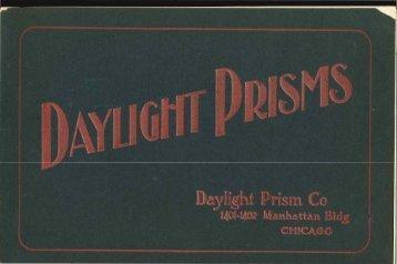 Daylight Prisms