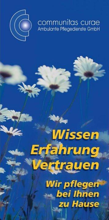 Flyer Pflege - Seniorenwohnheim-bruehl.de