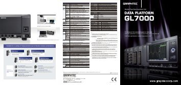 Download brochure - Graphtec