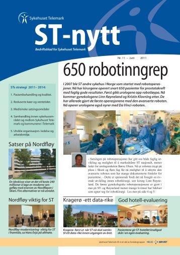 ST-nytt nr. 11, 2011 - Sykehuset Telemark