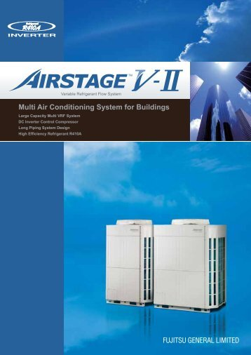 Multi Air Conditioning System for Buildings