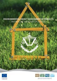 environmental impact assessment of projects - Europa decentraal