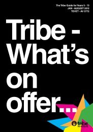The Tribe Guide for Years 5 - 13 Jan - auGusT 2012 ... - Pelorous