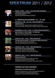 3. limmattaler kulturparty 22. – 26. juni jederzeit auf dem laufenden