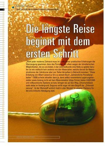 Prof. Dr. Peter Pospiech, München: Verdrängt ... - Zahnheilkunde.de