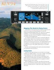 KLN-94 Brochure - Condor Aero Club