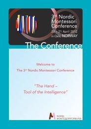 The Conference - Montessori Europe