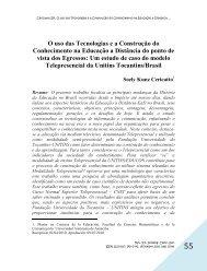 O uso das Tecnologias e a Construção do Conhecimento na ...