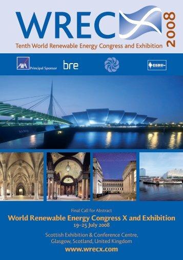 World Renewable Energy Congress / Network (WREC/WREN)