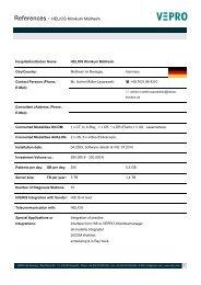 References - HELIOS Klinikum Müllheim - Vepro
