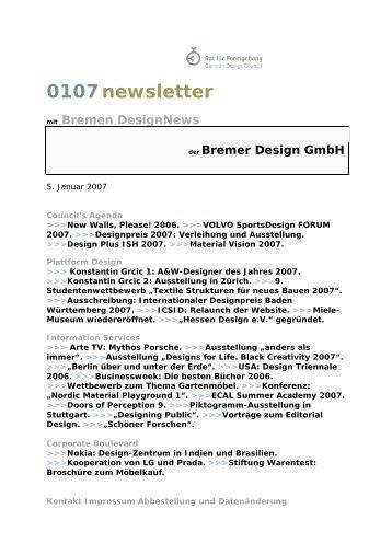 0107 Bremer DesignNews