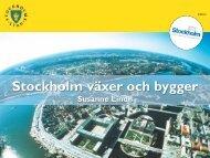 Stockholm växer och bygger