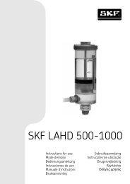 SKF LAHD 500-1000