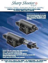 GCP Sharp Shooter Feed Drill Catalog - Pneumatic Tools Online