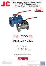 Model 715-730 ASME 150-300 Class Floating Flanged 1 Piece ...