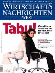 Ausgabe 03/2011 Wirtschaftsnachrichten West