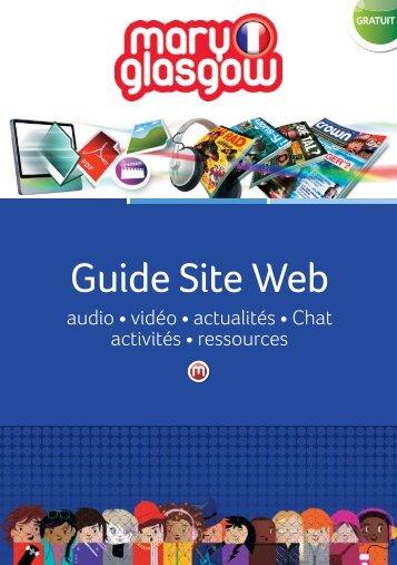 Guide Site Web - Scholastic