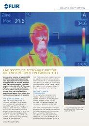 une société d'électronique protège ses employés avec l'infrarouge flir