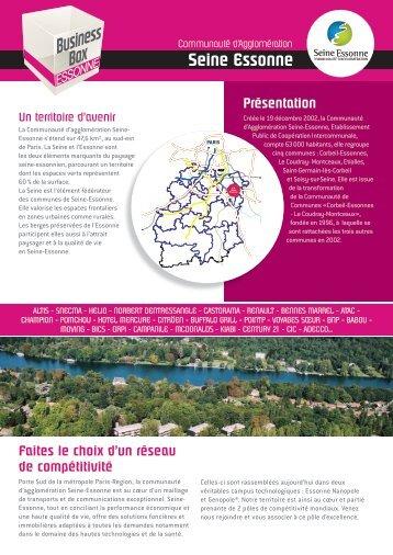 Communauté d'Aglglomération Seine Essonne