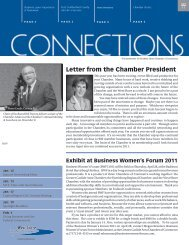 Letter from the Chamber President - West Shore Chamber of ...
