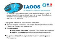 Le projet IAOOS - Mercator Océan