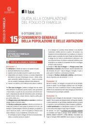 Guida alla compilazione del questionario delle famiglie per tutti i ...