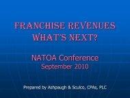 Garth Ashpaugh Presentation - NATOA