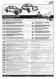 Nissan Navara 08/2005-