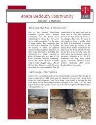 Anata Bedouin Community - Jlac
