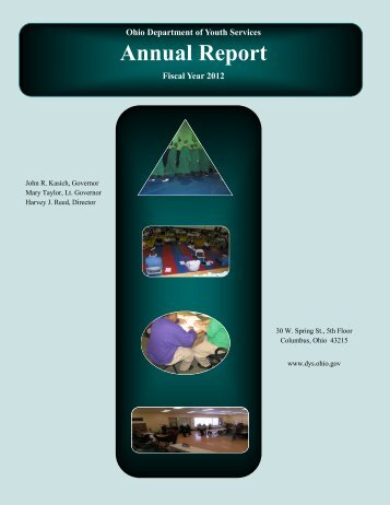 Annual Report - Ohio Department of Youth Services
