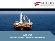 Well Ops Gulf of Mexico Services Overview - Helix Energy Solutions