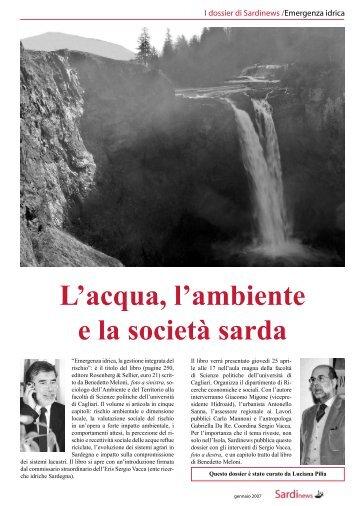 L'acqua, l'ambiente e la società sarda - Sardinews