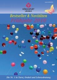 Katalog Königsfurt-Urania Verlag Frühjahr 2010