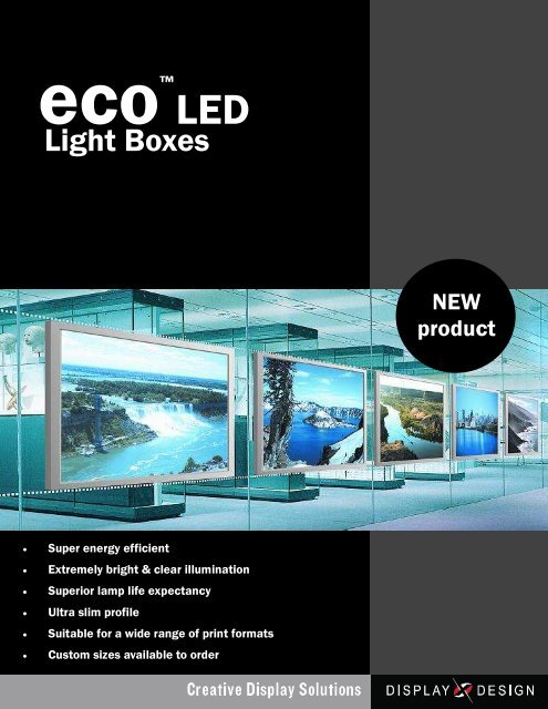 ECo led lightbox temp brochure for PDF2 - Display Design