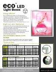 ECo led lightbox temp brochure for PDF2 - Display Design - Page 2