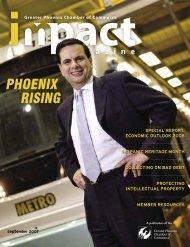 Impact Magazine September 2007 - Phoenix Chamber of Commerce