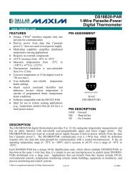 DS18B20-PAR 1-Wire Parasite-Power Digital Thermometer