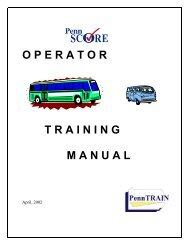 Operator Training Manual - CalACT