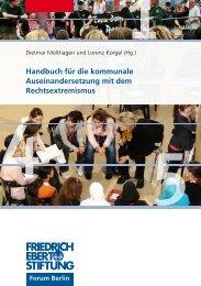 Handbuch für die kommunale Auseinandersetzung mit dem ...