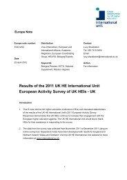 Europe Note - E 2012 02 - International Unit
